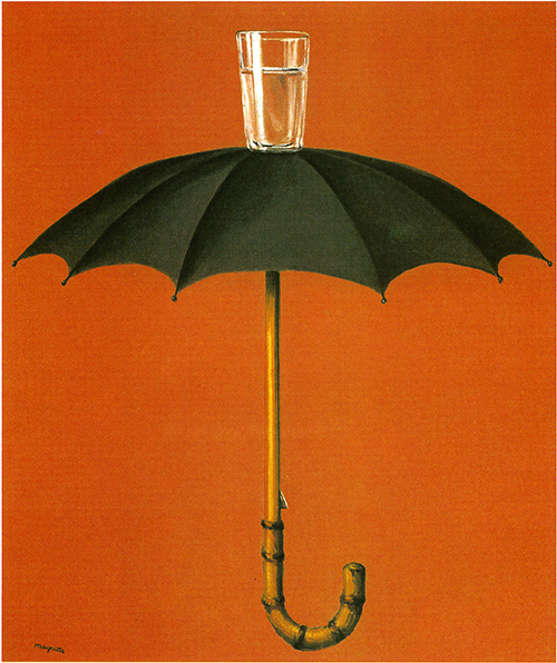 Le vacanze di Hegel, Magritte