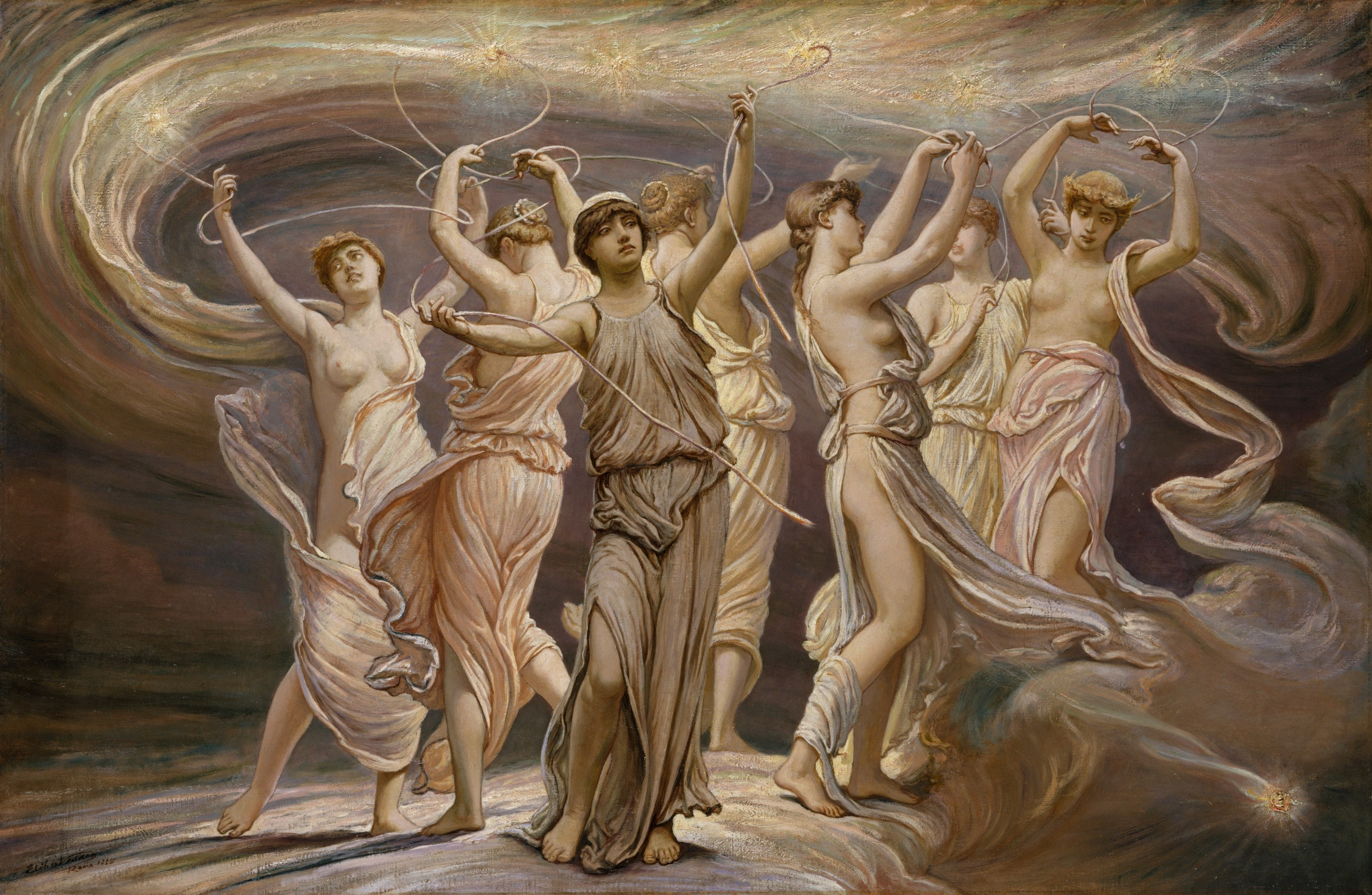 Elihu_Vedder_-_The_Pleiades,_1885