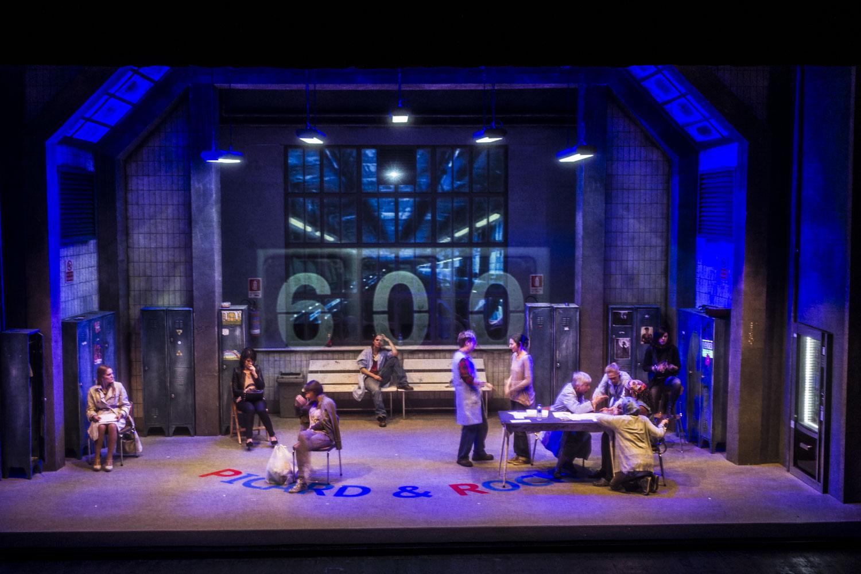 7 minuti, Narni, Teatro, Ottavia Piccolo, Alessandro Gassmann, 2014, Novembre.